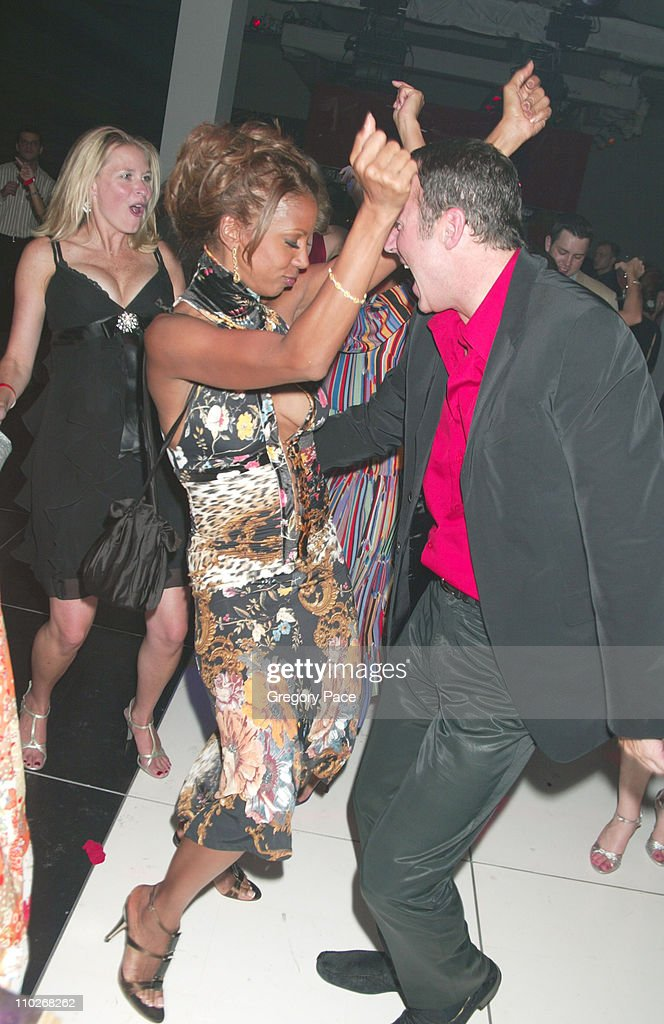 Holly Robinson Peete and Colin Cowie on the dance floor