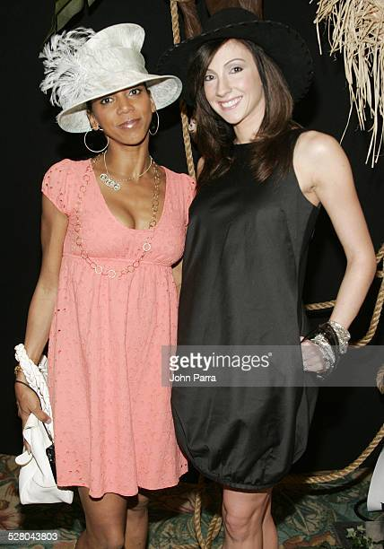 Holly Robinson Peete and Katrina Kampins during 5th Annual Hats Off Luncheon to Benefit the Honey Shine Mentoring Program at Parrot Jungle Island in...