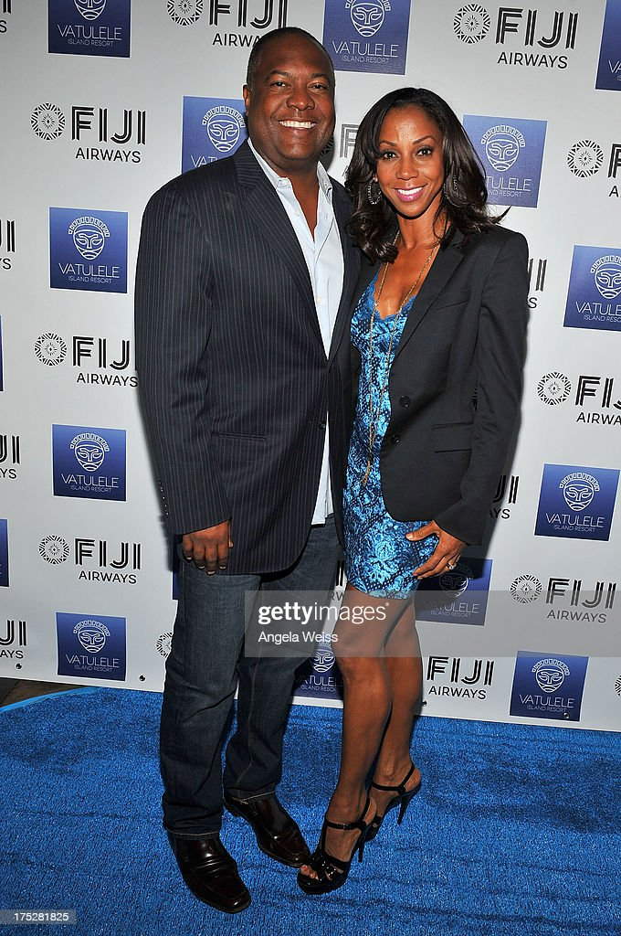 <a gi-track='captionPersonalityLinkClicked' href=/galleries/search?phrase=Holly+Robinson+Peete&family=editorial&specificpeople=213716 ng-click='$event.stopPropagation()'>Holly Robinson Peete</a> and <a gi-track='captionPersonalityLinkClicked' href=/galleries/search?phrase=Rodney+Peete&family=editorial&specificpeople=220342 ng-click='$event.stopPropagation()'>Rodney Peete</a> attend the Vatulele Island Resort launch event in Los Angeles, California, on July 31, 2013 in Los Angeles, California.