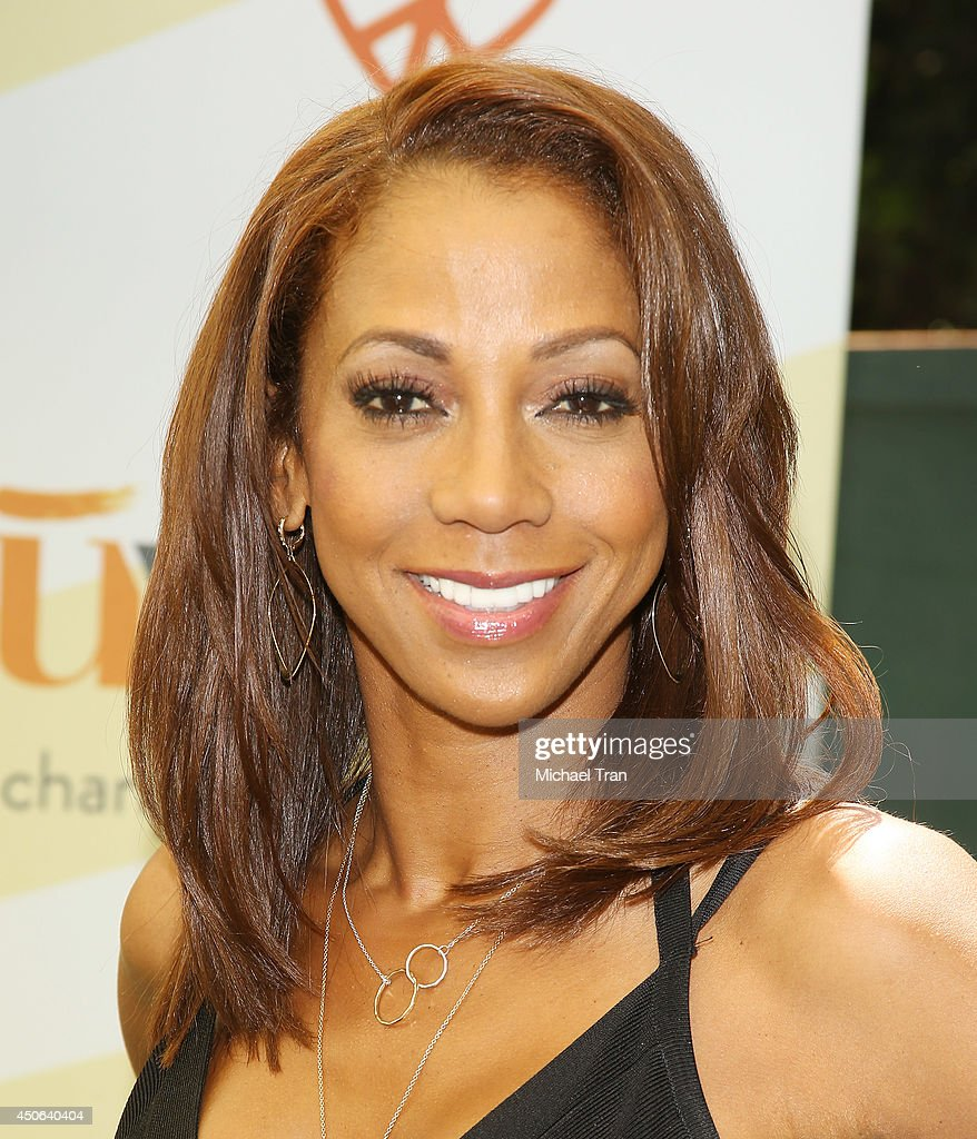 Holly Robinson Peete arrives at the Children Mending Hearts's 6th Annual Fundraiser 'Empathy Rocks A Spring Into Summer Bash' held at a private...