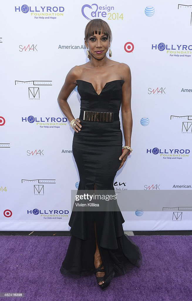 <a gi-track='captionPersonalityLinkClicked' href=/galleries/search?phrase=Holly+Robinson+Peete&family=editorial&specificpeople=213716 ng-click='$event.stopPropagation()'>Holly Robinson Peete</a> attends 16th Annual DesignCare To Benefit The HollyRod Foundation at The Lot Studios on July 19, 2014 in Los Angeles, California.