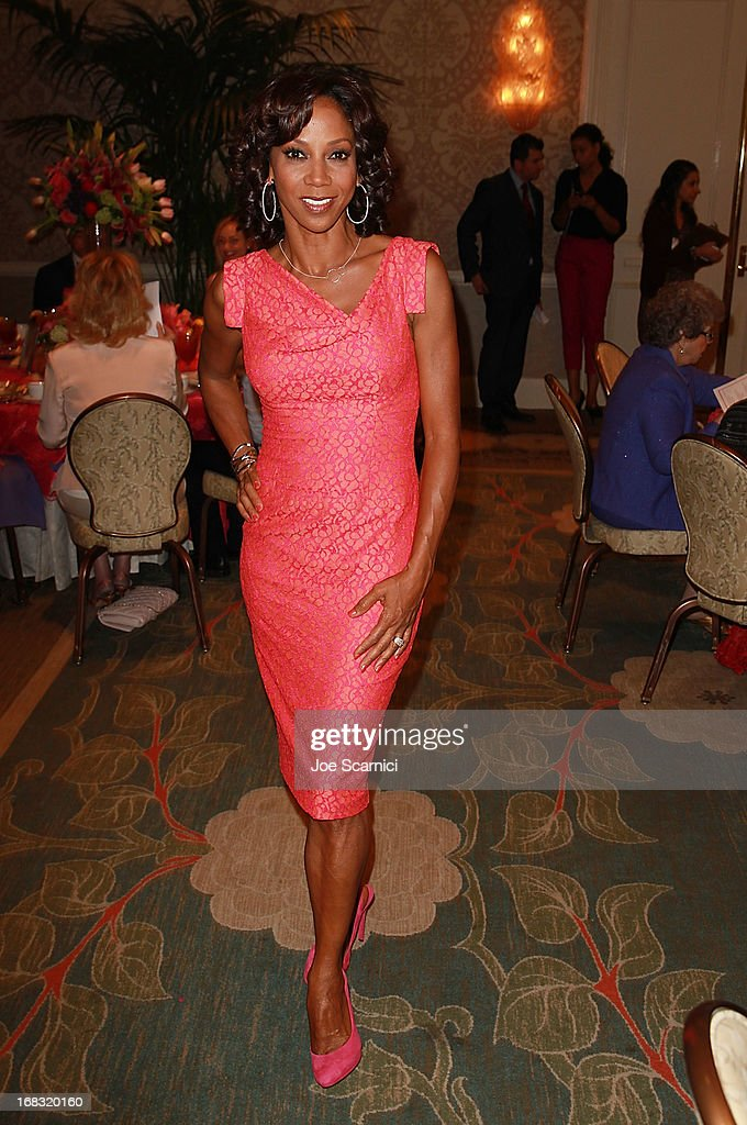 Holly Robinson Peete attends ABC's Mother's Day luncheon at Four Seasons hotel Los Angeles at Beverly Hills on May 8, 2013 in Beverly Hills, California.
