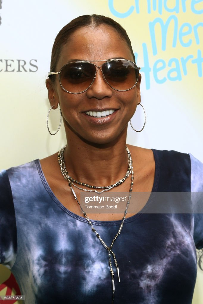 Holly Robinson Peete attends Children Mending Hearts' 9th Annual Empathy Rocks on June 11, 2017 in Bel Air, California.