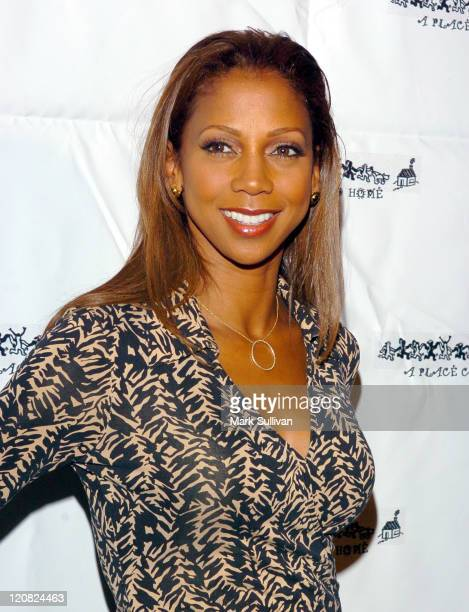 Holly Robinson Peete during A Place Called Home 'Gala For The Children' Arrivals at The Beverly Hilton Hotel in Beverly Hills California United States