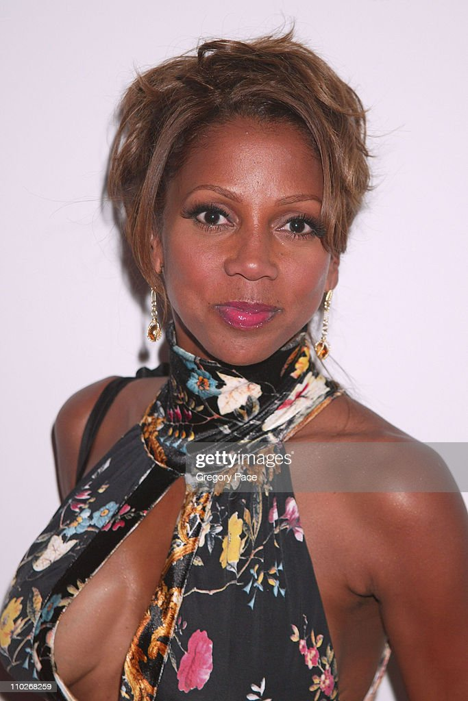 Holly Robinson Peete during Cosmopolitan's 40th Birthday Bash - Arrivals and Inside at Skylight Studio in New York City, New York, United States.