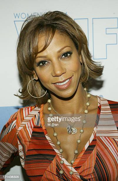 Holly Robinson Peete during Women in Film LA Present the 2007 Power Breakfast 'Minority Report' at Four Seasons Hotel in Los Angeles California...