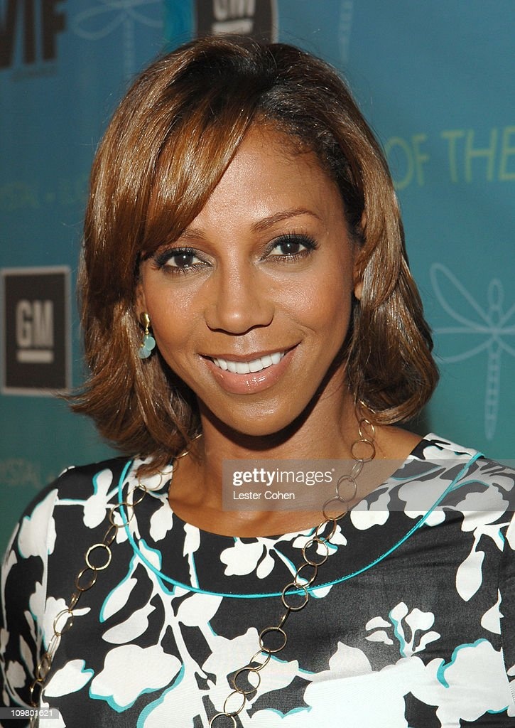Holly Robinson Peete during Women In Film Presents The Best of the Best The 2007 Crystal Lucy Awards Red Carpet in Los Angeles California United...