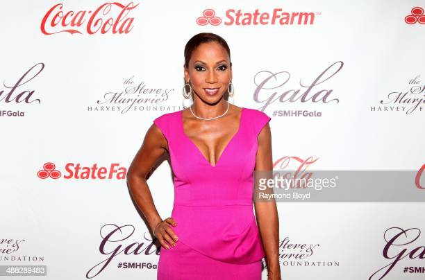 Holly RobinsonPeete attends the 2014 Steve and Marjorie Harvey Foundation Gala presented by CocaCola at the Hilton Chicago on May 3 2014 in Chicago...