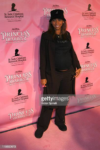 Holly RobinsonPeete during 'The Princess Diaries 2' DVD Pajama Ball Benefiting St Jude Children's Research Hospital at The Beverly Hilton Hotel in...