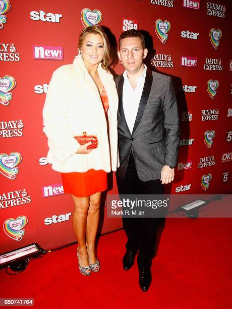 Holly Valance and Nick Candy attend the 60th Birthday Celebration of Richard Desmond at Old Billingsgate Market on December 8 2011 in London England