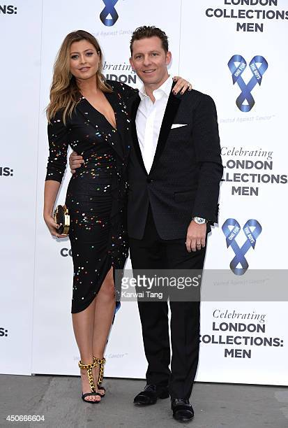 Holly Valance and Nick Candy attend the One For The Boys charity ball during the London Collections Men SS15 on June 15 2014 in London England