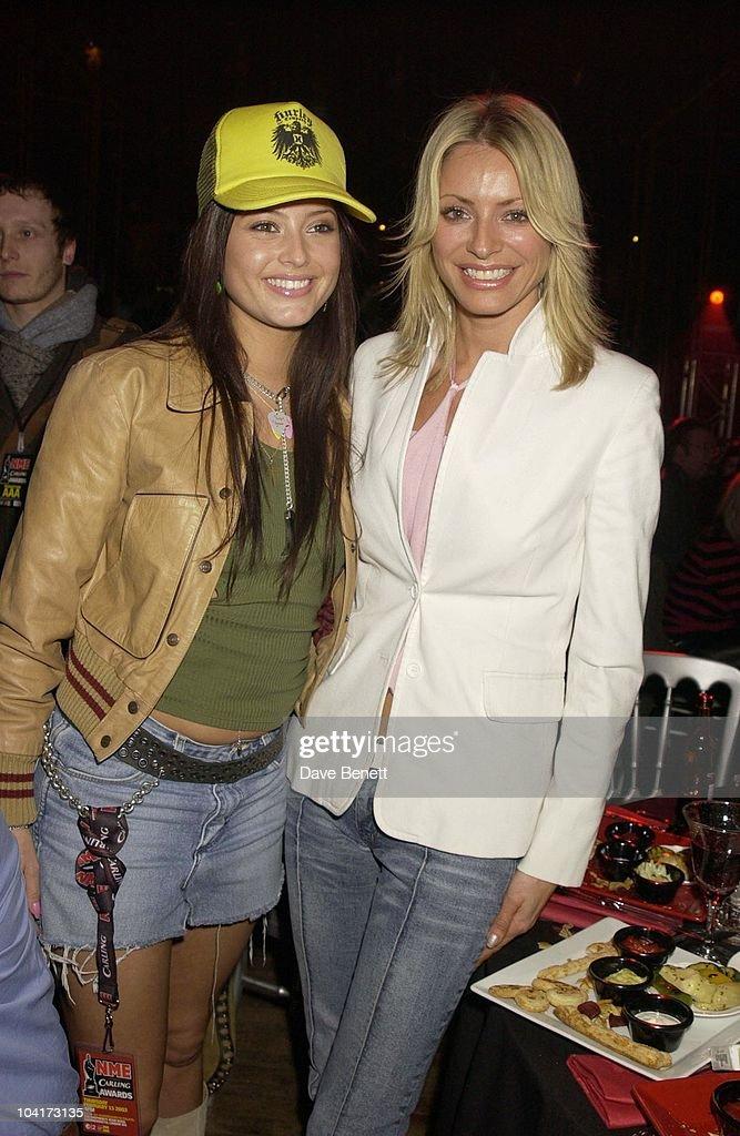 Holly Valance And Tess Daly, Nme Carling Awards 2003, At Po Na Na, Hammersmith, London