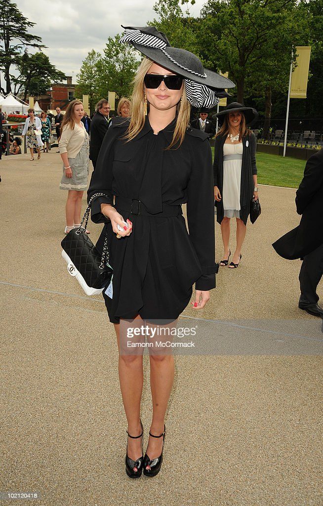 Holly Valance attends Royal Ascot at Ascot Racecourse on June 15, 2010 in Ascot, England.