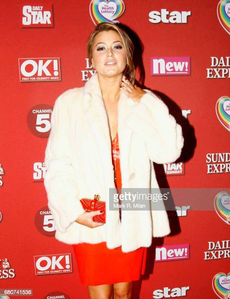 Holly Valance attends the 60th Birthday Celebration of Richard Desmond at Old Billingsgate Market on December 8 2011 in London England