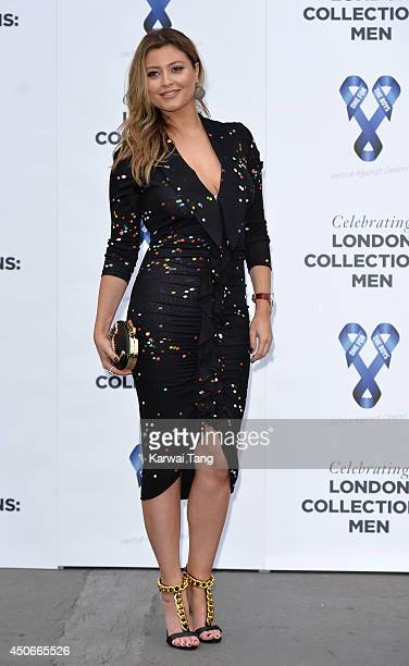 Holly Valance attends the One For The Boys charity ball during the London Collections Men SS15 on June 15 2014 in London England