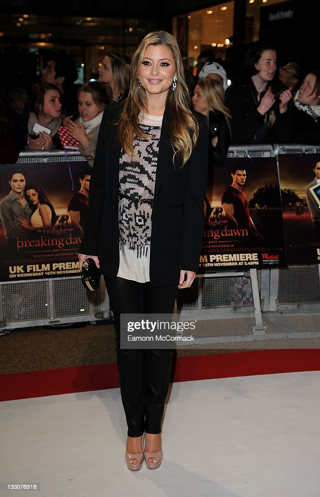 <a gi-track='captionPersonalityLinkClicked' href=/galleries/search?phrase=Holly+Valance&family=editorial&specificpeople=202639 ng-click='$event.stopPropagation()'>Holly Valance</a> attends the UK premiere of The Twilight Saga: Breaking Dawn Part 1 at Westfield Stratford City on November 16, 2011 in London, England.