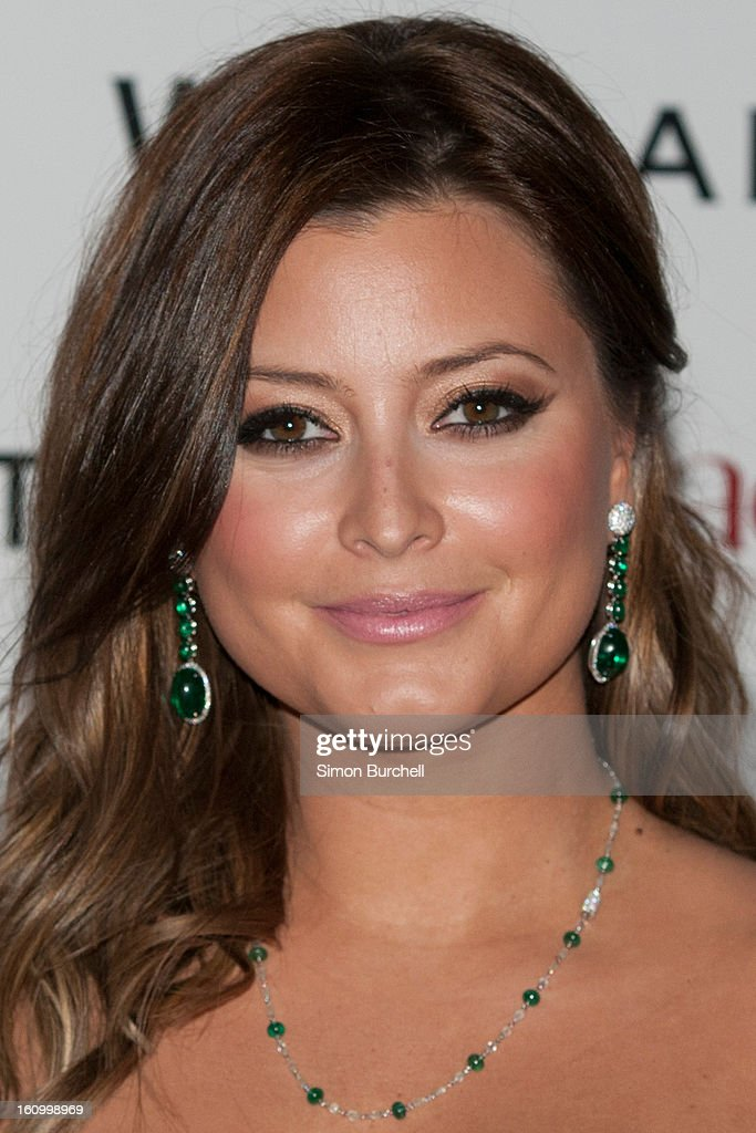 Holly Valance attends the WilliamVintage Dinner Sponsored By Adler at St Pancras Renaissance Hotel on February 8, 2013 in London, England.