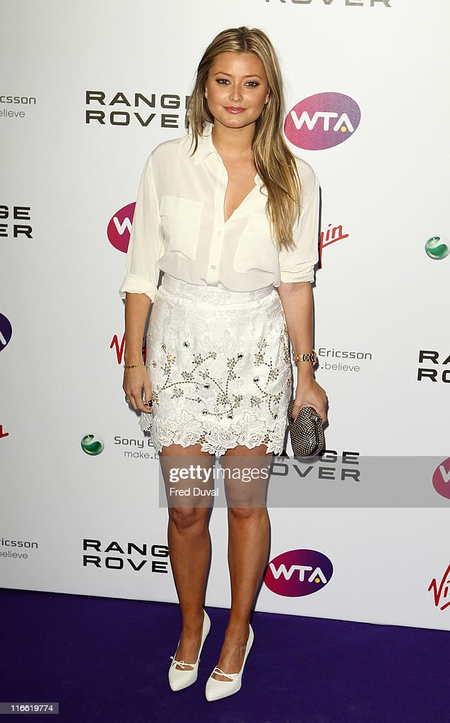 Holly Valance attends the WTA Pre-Wimbledon Party at Kensington Roof Gardens on June 16, 2011 in London, England.