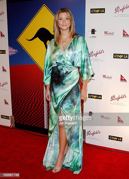 Holly Valance during G'Day LA Penfolds Gala Black Tie Dinner at Wiltern Theatre in Los Angeles California United States