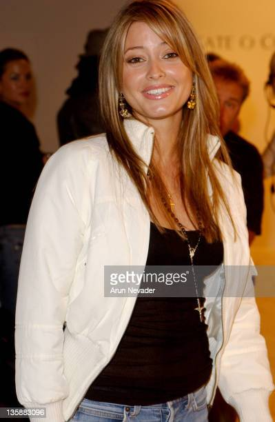 Holly Valance during MercedesBenz 2005 Spring Fashion Week at Smashbox Studios Kate O'Connor Front Row and Backstage at Smashbox Studios in Culver...