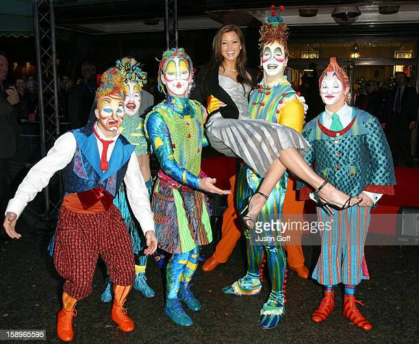 Holly Valance Officially Opens The 'Harrods' January Sale Accompanied By Cirque Du Soleil