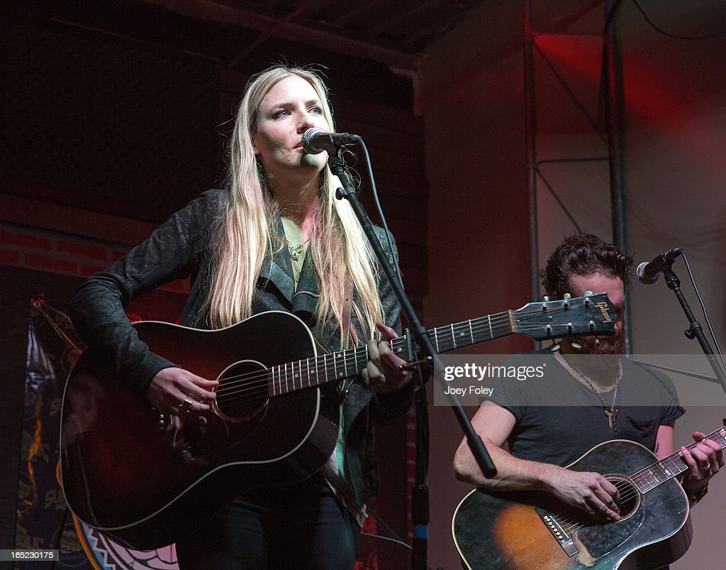Holly Williams performs in concert at Do317 Lounge on March 29, 2013 in Indianapolis, Indiana.