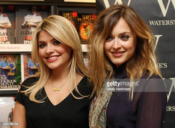 Holly Willoughby and Ferne Cotton promote their new book 'The Best Friends' Guide To Life' at Waterstones Bluewater Shopping Centre on October 13...
