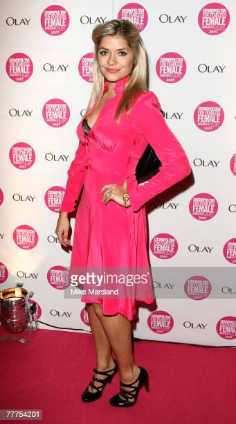 Holly Willoughby arrives at Cosmopolitan's Ultimate Women of the Year Awards at Cirque on November 6 2007 in London England