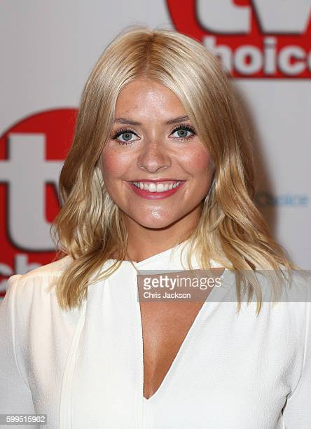 Holly Willoughby arrives for the TV Choice Awards at The Dorchester on September 5 2016 in London England
