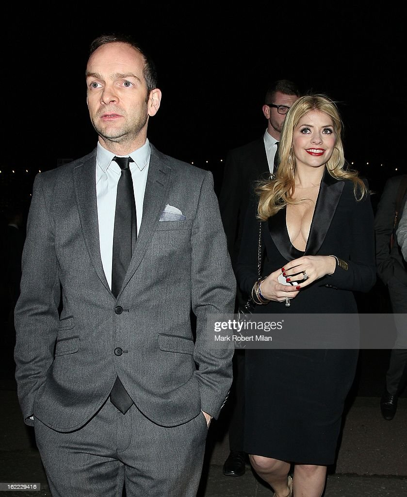 <a gi-track='captionPersonalityLinkClicked' href=/galleries/search?phrase=Holly+Willoughby&family=editorial&specificpeople=212941 ng-click='$event.stopPropagation()'>Holly Willoughby</a> at the Warner Music in association with Vanity Fair BRITs aftershow party at The Savoy Hotel on February 20, 2013 in London, England.