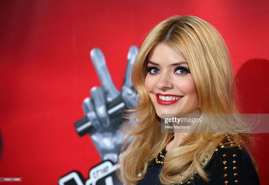 Holly Willoughby attends a photocall to launch the second series of The Voice at Soho Hotel on March 11, 2013 in London, England.