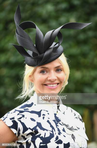 Holly Willoughby attends Royal Ascot 2017 at Ascot Racecourse on June 23 2017 in Ascot England