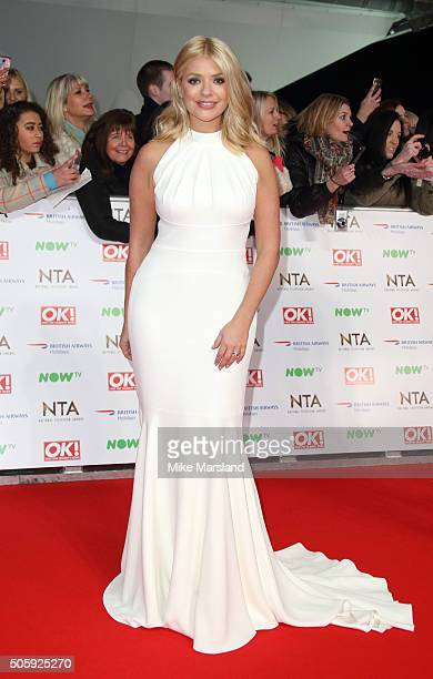 Holly Willoughby attends the 21st National Television Awards at The O2 Arena on January 20 2016 in London England