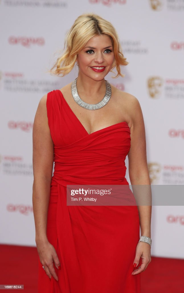 Holly Willoughby attends the Arqiva British Academy Television Awards 2013 at the Royal Festival Hall on May 12, 2013 in London, England.