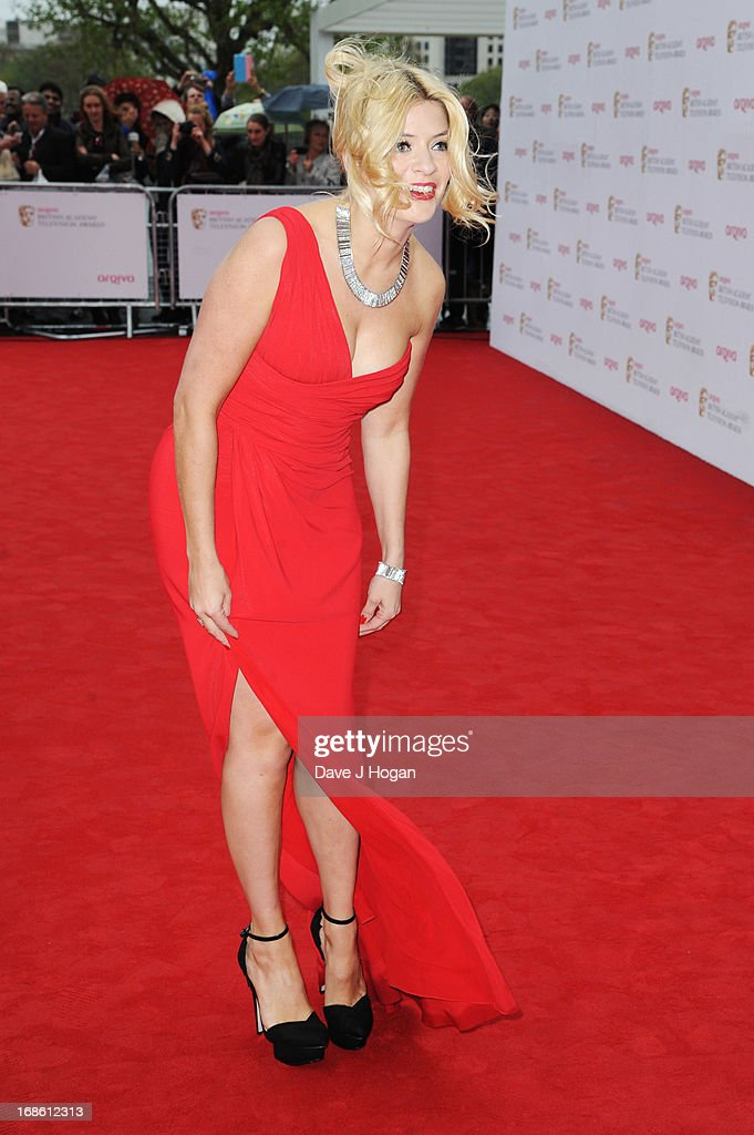 Holly Willoughby attends the BAFTA TV Awards 2013 at The Royal Festival Hall on May 12, 2013 in London, England.