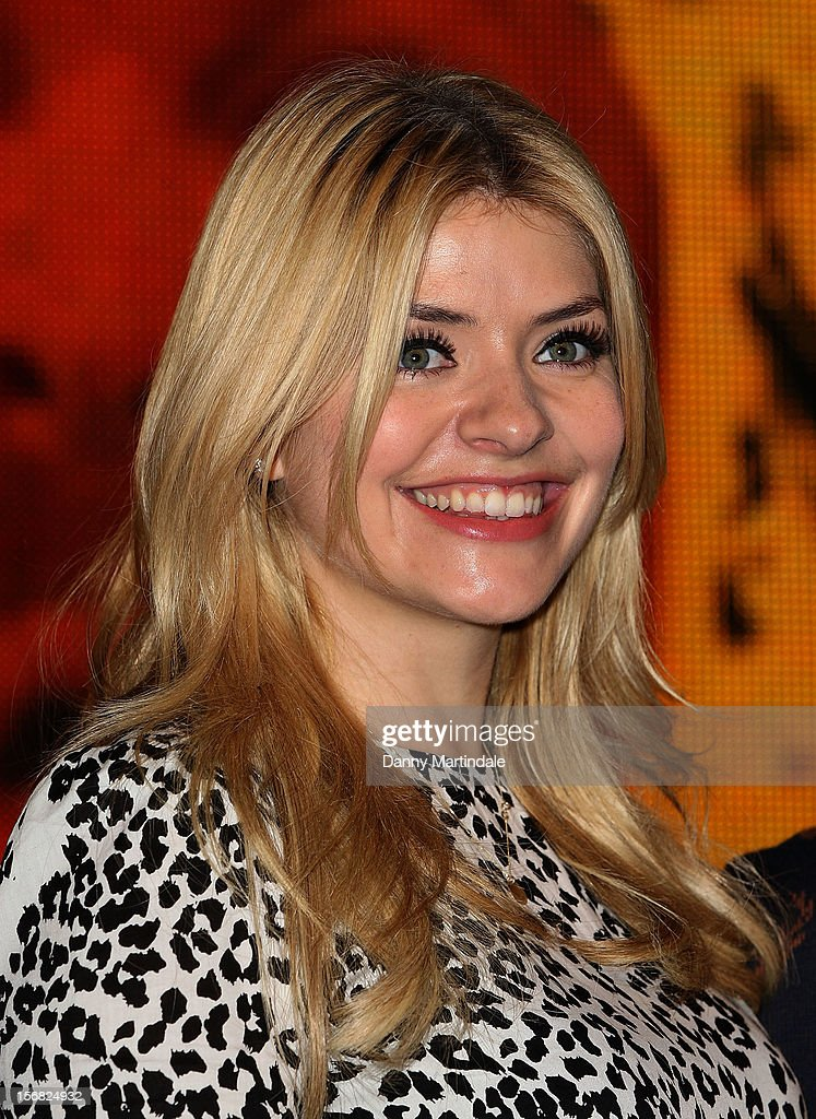 <a gi-track='captionPersonalityLinkClicked' href=/galleries/search?phrase=Holly+Willoughby&family=editorial&specificpeople=212941 ng-click='$event.stopPropagation()'>Holly Willoughby</a> attends the DVD signing for 'Celebrity Juice: Too Juicy For TV 2' at HMV, Oxford Street on November 22, 2012 in London, England.