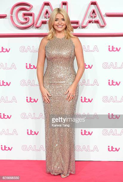 Holly Willoughby attends the ITV Gala at London Palladium on November 24 2016 in London England