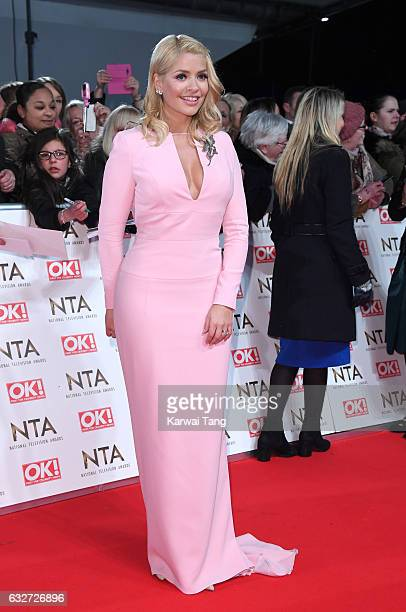 Holly Willoughby attends the National Television Awards at The O2 Arena on January 25 2017 in London England