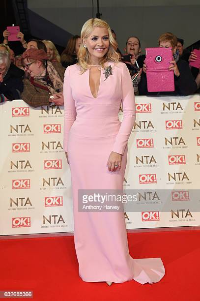 Holly Willoughby attends the National Television Awards on January 25 2017 in London United Kingdom