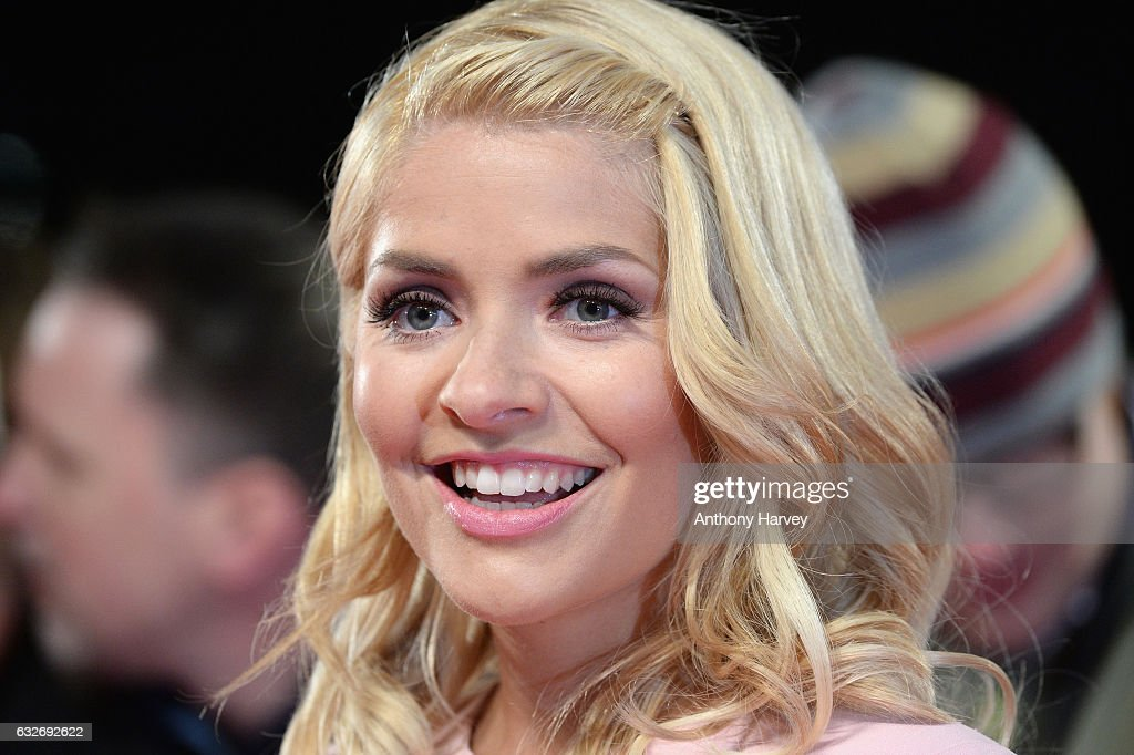 Holly Willoughby attends the National Television Awards on January 25, 2017 in London, United Kingdom.