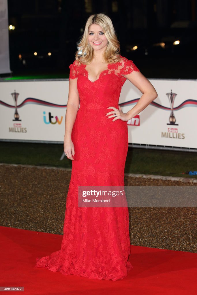 <a gi-track='captionPersonalityLinkClicked' href=/galleries/search?phrase=Holly+Willoughby&family=editorial&specificpeople=212941 ng-click='$event.stopPropagation()'>Holly Willoughby</a> attends The Sun Military Awards at National Maritime Museum on December 11, 2013 in London, England.