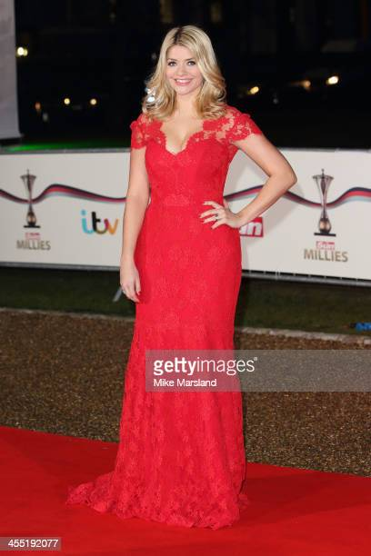 Holly Willoughby attends The Sun Military Awards at National Maritime Museum on December 11 2013 in London England