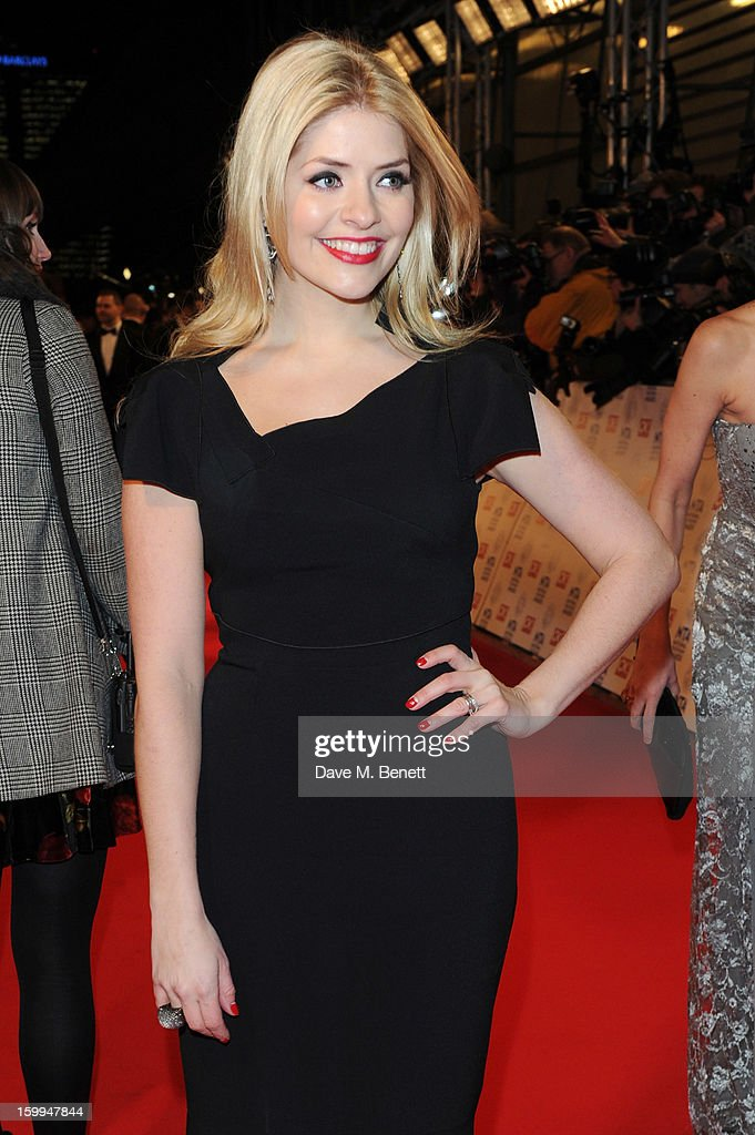Holly Willoughby attends the the National Television Awards at 02 Arena on January 23, 2013 in London, England.