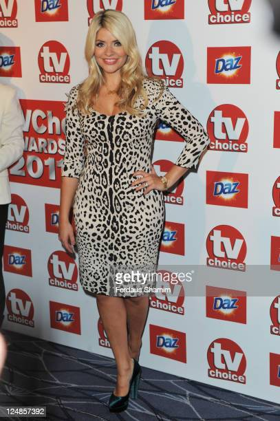 Holly Willoughby attends the The TVChoice Awards 2011 at The Savoy Hotel on September 13 2011 in London England
