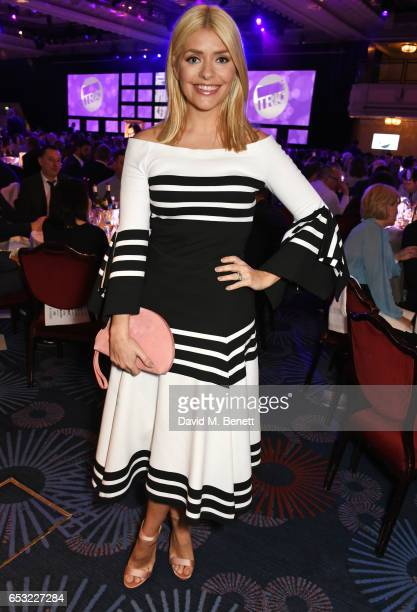 Holly Willoughby attends the TRIC Awards 2017 at The Grosvenor House Hotel on March 14 2017 in London England