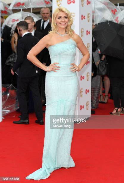 Holly Willoughby attends the Virgin TV BAFTA Television Awards at The Royal Festival Hall on May 14 2017 in London England