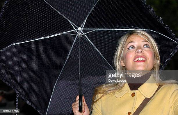 Holly Willoughby during 2007 PDSA Pet Pawtraits Calendar Launch at The Mall in London Great Britain