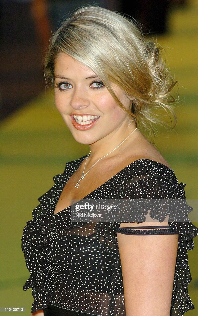 Holly Willoughby during 'Alien Autopsy' London Premiere Outside Arrivals at Leicester Square in London Great Britain