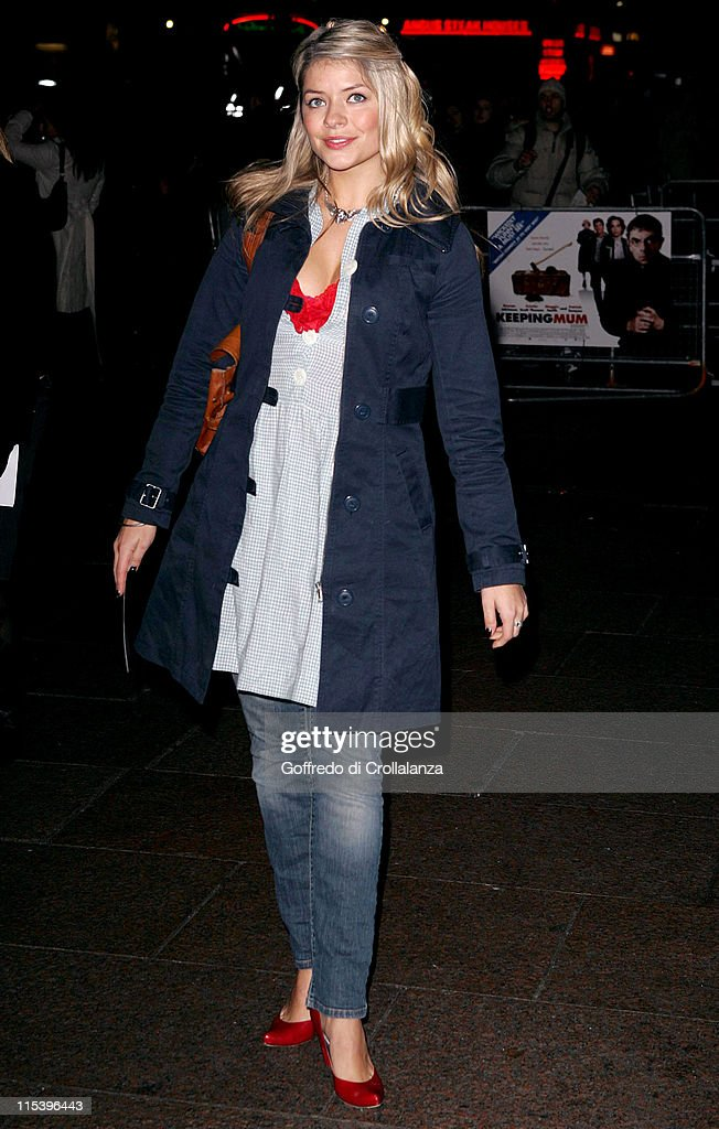 Holly Willoughby during 'Keeping Mum' London Premiere at Vue Cinema Leicester Square in London Great Britain