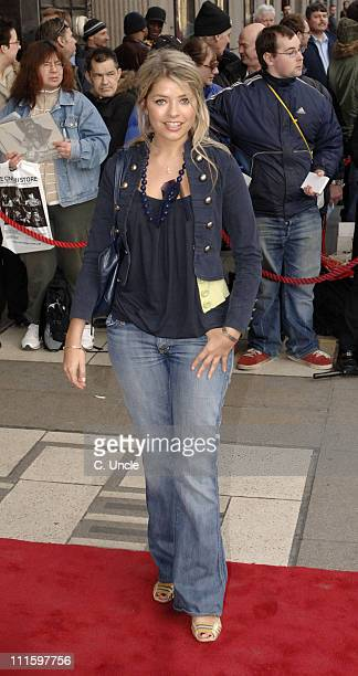Holly Willoughby during 'Movin' Out' West End Opening Night at Apollo Victoria in London Great Britain